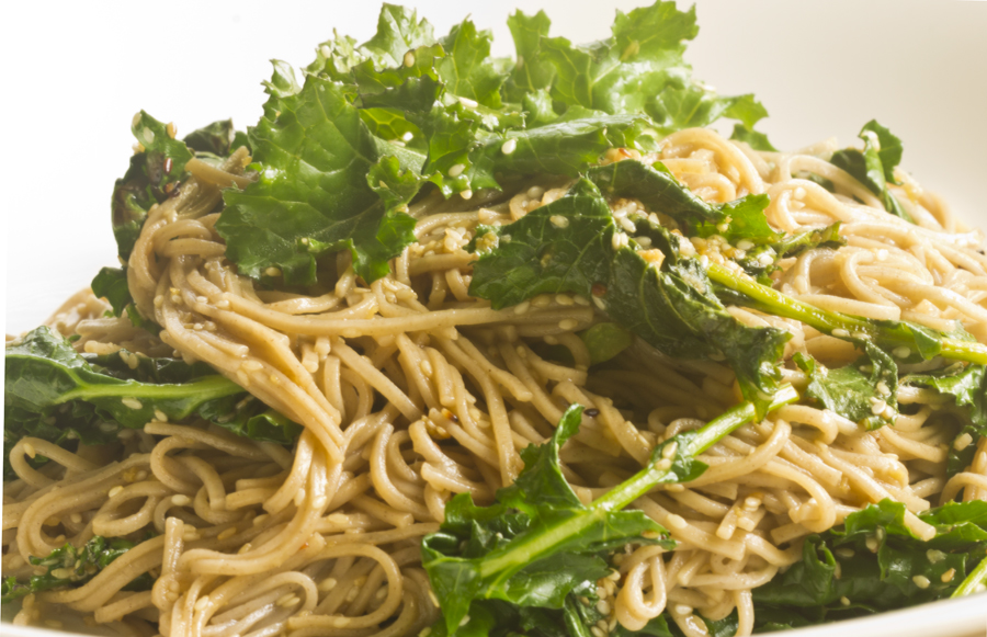 Kale and Soba Noodles