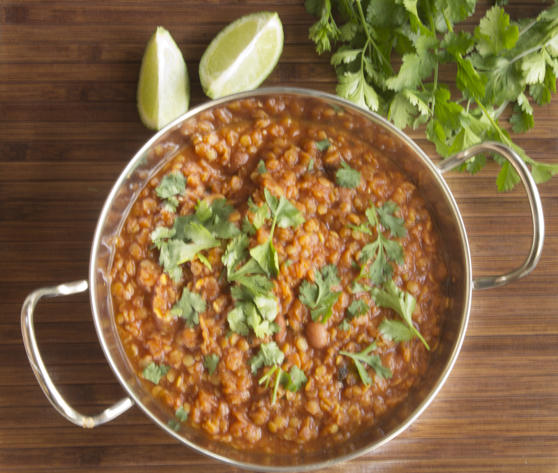 Red Lentil Chilli Con Carne
