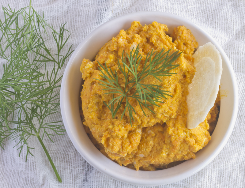 Honeyed Carrot Dip