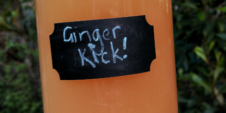 Ginger Kick! – The best tasting drink to boost your immunity