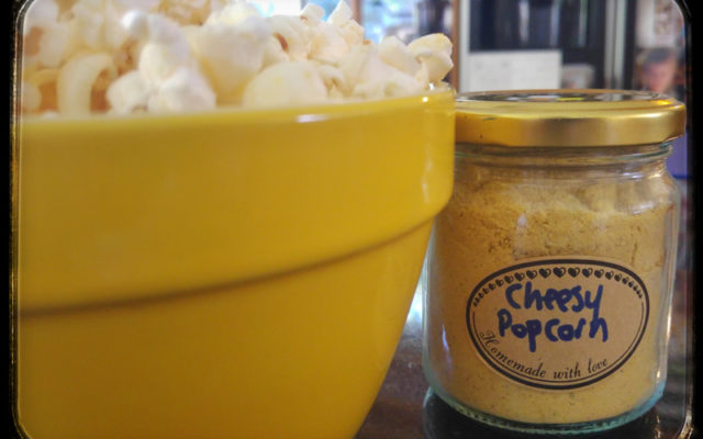 Vegan Cheesy Popcorn Seasoning