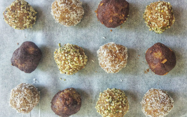 Gingerbread Bliss Balls